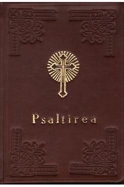 Psaltirea mijlocie (legată în piele)