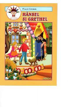 Hansel și Grethel. Carte de colorat - Frații Grimm