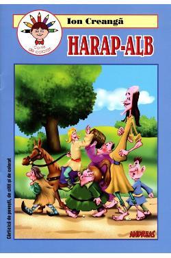 Harap-Alb - Carte de colorat